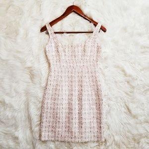 Boston Proper Tweed Sheath Dress